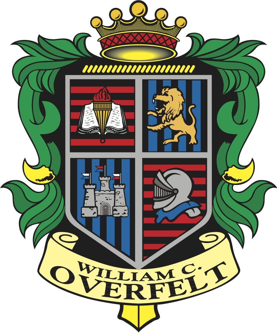 William C. Overfelt High School Logo